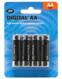 Boots AA Digital Batteries 4 pack