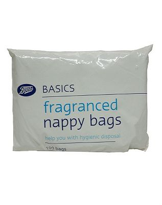 Boots Fragranced Nappy Bags  1 x 100 Pack