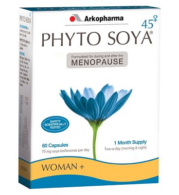 Phyto Soya High Strength Menopause capsules - 60 capsules