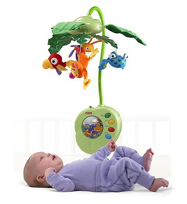 Fisher Price Rainforest PeekABoo Leaves Mobile