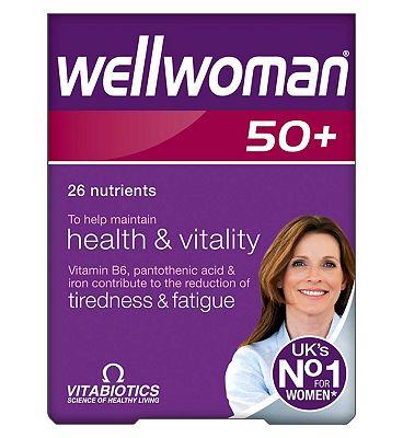 Wellwoman 50+  30 tablets
