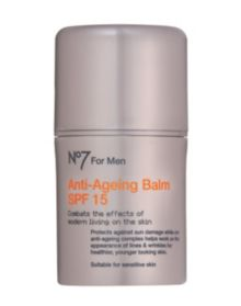 No7 For Men Anti Ageing Balm SPF 15- 50ml