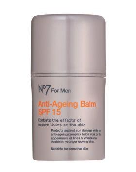 No7 For Men Anti Ageing Balm