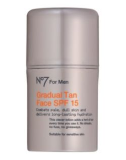 No7 For Men Gradual Tan Face SPF 15