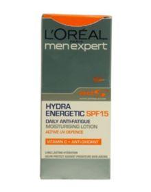L'Oreal Men Expert Hydra Energetic SPF15 Moisturiser
