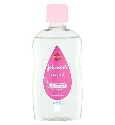 Johnsons Baby Travel Size Baby Oil  1 x 100ml