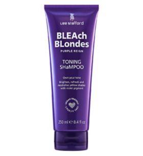 lee stafford bleach blonde shampoo 250ml boots