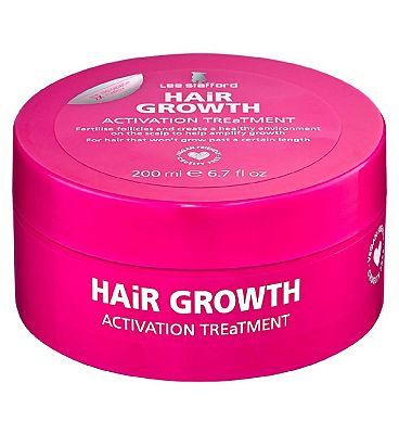 Lee Stafford Hair Growth Treatment Pink 200ml
