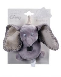 24 Advantage card points. Dumbo Ring Rattle is a soft comfort ring-rattle perfect for little hands.