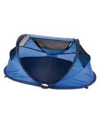 NScessity Small Pop up Travel Cot blue