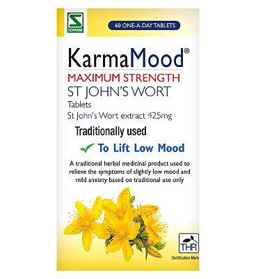 Karma tablets St John's Wort extract 425mg (60 Tablets)