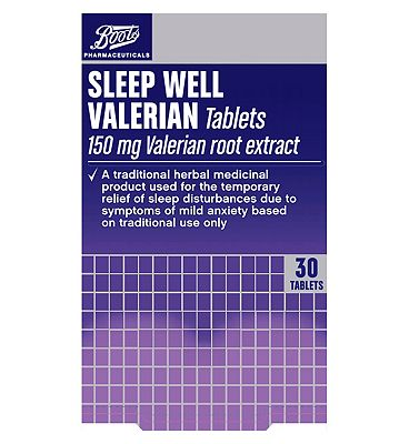 Boots Sleep Well Traditional Herbal Remedy150mg - 30 Tablets