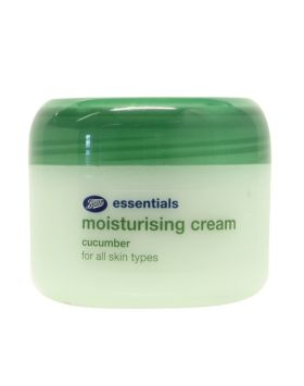 Green tub of moisturiser