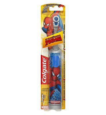 Colgate Kids Spiderman Battery Powered Toothbrush