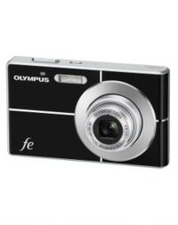 Olympus FE 3000 Black Compact Digital Camera with 2GB XD Card and Camera Case