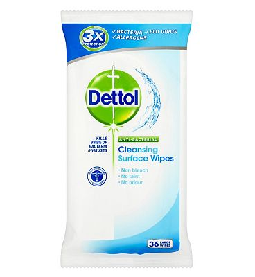 Dettol Antibacterial Surface Wipes  1 Pack