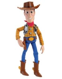 132 Advantage card points. Bring the magic of the film into your home with this Toy Story 12 Talking Woody - he'll take your child on many wonderful adventures. FREE Delivery on orders over £40.