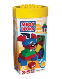 32 Advantage card points.       Megabloks Minibloks Tote is packed with building blocks to enable hours       of construction fun and creativity!     FREE Delivery on orders over £40.