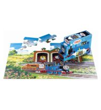 36 Advantage card points. This giant floor jigsaw puzzle comes with 24 pieces and is packed in a Thomas the Tank Engine shaped box. FREE Delivery on orders over £40.