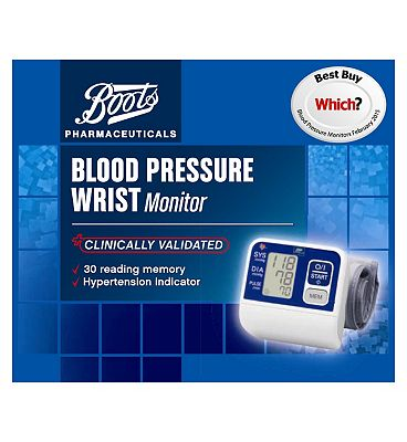 Boots Pharmaceuticals  Blood Pressure Wrist Monitor