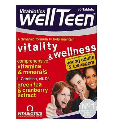 Vitabiotics WellTeen Vitality & Wellness 30 Tablets