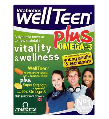 WellTeen Plus Omega-3 Dual Pack 56 Tablets/Capsules