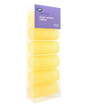 Boots Essentials Large Vented Hair Rollers (T48)