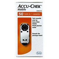 AccuChek Mobile Test Cassette 50 Strips 108 Advantage card points ...