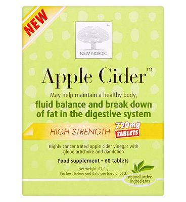 Apple Cider High Strength tablets - 60