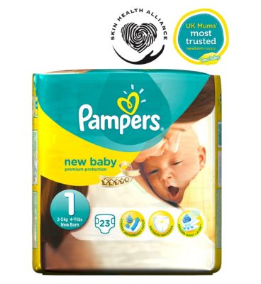 pamper nappies