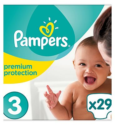 Pampers New Baby Nappies Size 3   29 Nappies