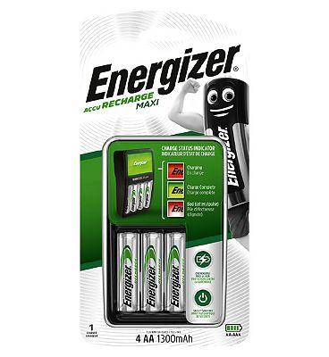 Energizer Compact Charger 2000MAH