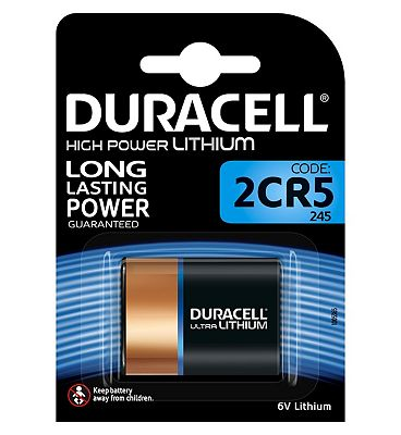 Duracell 245 Ultra Photo 6V Lithium Battery