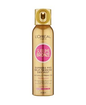 L'Oréal Paris Sublime Bronze Express Pro Spray for Fair Skin 150ml