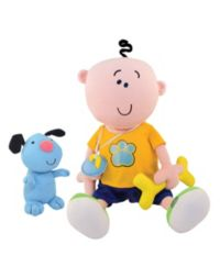 120 Advantage card points. Goochcioo Little Rascal doll with playful interactive puppy. FREE Delivery on orders over £40.