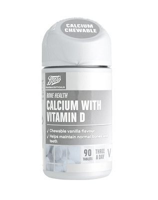 Boots Calcium with Vitamin D (90 Tablets)