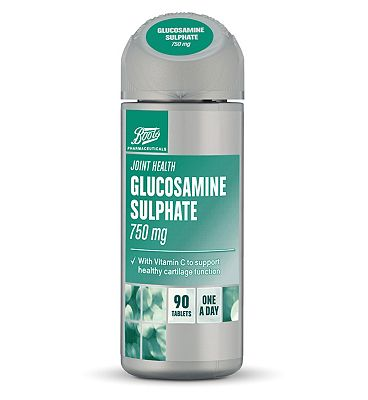 Boots Glucosamine Sulphate 750mg (90 Tablets)
