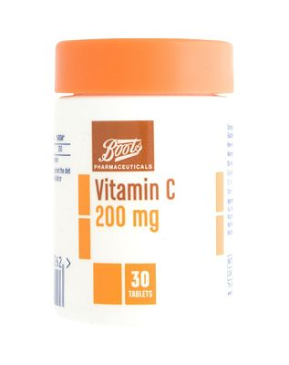 Boots Vitamin C 200mg (30 Tablets)