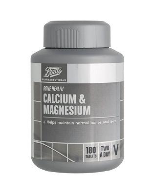 Boots Calcium & Magnesium (180 Tablets)