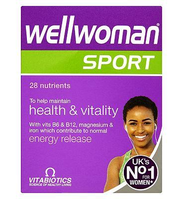 Vitabiotics Wellwoman Sports and Fitness 30 Tabs