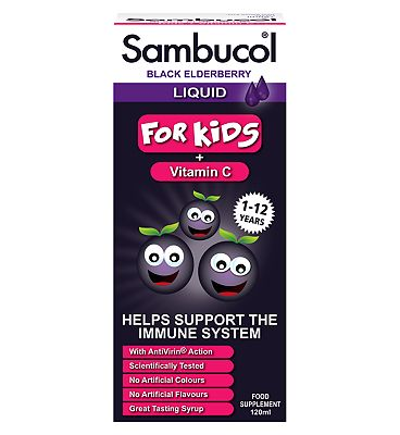 Sambucol Kids Black Elderberry - 120 ml