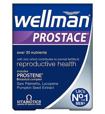 Vitabiotics  Wellman Prostace 60s