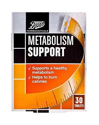 Boots Pharmaceuticals Metabolism Support (30 Tablets)