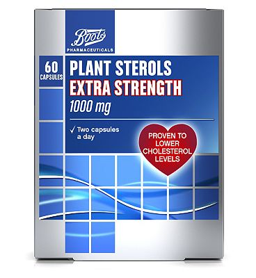 Boots Plant Sterols 1000mg (60 Capsules)