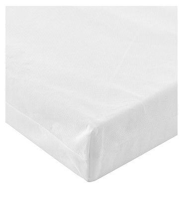 Tutti Bambini Foam Core Baby Cot Bed Mattress  70 x 140cm