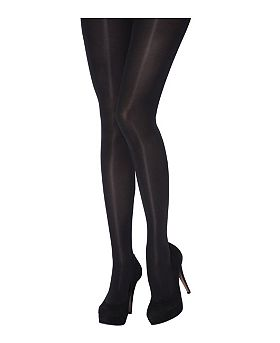 JA by Jonathan Aston  Gloss Opaque Tights  Black