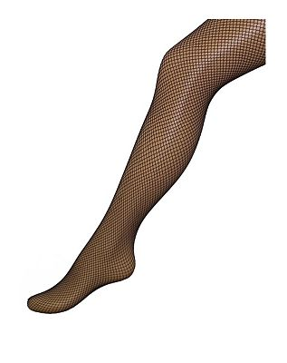 Boots Black Fishnet Tights