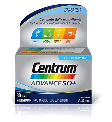 Centrum Advance 50+ - 30 tablets