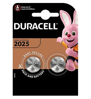 Duracell 2025 Electronics Battery - 2 Batteries