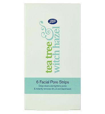 Boots Tea Tree & Witch Hazel 6 Facial  Pore Strips